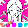 Beauty Coloring Book for Girls