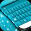 霓虹蓝色键盘GO