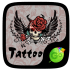 Tattoo Go Keyboard theme