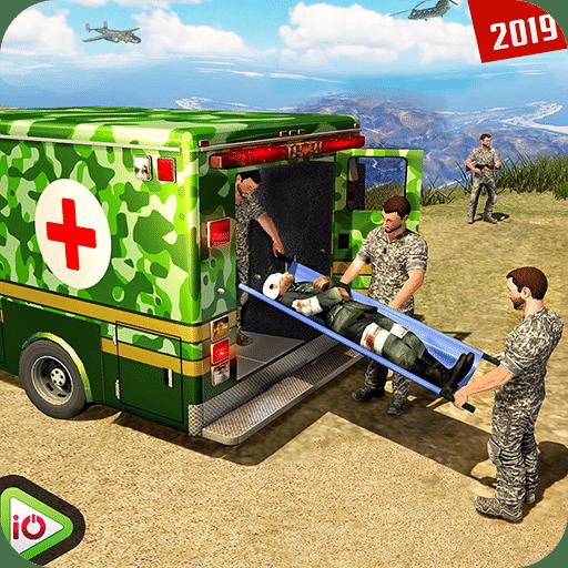 美国陆军救护车救援