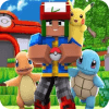Pixelmon craft go strory mod Battle PE