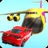 Car Stunts Battle Into Cargo Plane : Kids Games
