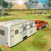 露营车厢车模拟器:巡洋舰汽车拖车3D