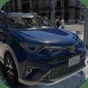 Driving Rav 4 SUV Car Simulator