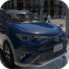 Driving Rav 4 SUV Car Simulator