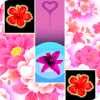 Red Flowers Piano Tiles 2K18