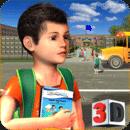 幼兒園模擬器:孩子們學習教育游戲