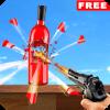 Real Bottle Target Shooting Game 2019