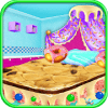 Bed Cake Maker Cooking Game