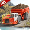Mountain Truck Driving Uphill 2019
