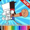 ok.ko! let's be heroes: Coloring Book