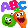 Funny Food*ABC games for toddlers and babies*