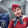 Airplane Flight Attendant -Career Job Sim