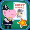 儿童警察游戏:河马侦探