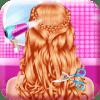 时尚辫子发型沙龙-女孩游戏