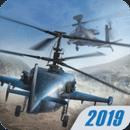 现代战争直升机