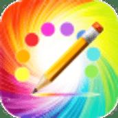 彩虹绘画涂鸦-可重播画图过程