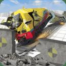 火车碰撞试验模拟器