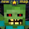 MCPE僵尸地图疯狂城市冒险