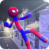 Stickman Spider Hero 3D
