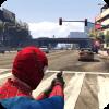Spider Hero Miami City Fight