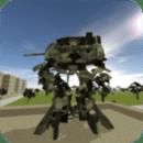 Urban War Robot Tank
