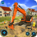 City Road Excavator Simulator 2018