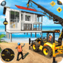 Beach House Builder Construction Games 2019