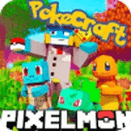 PixelMon mod: craft and cube 3d