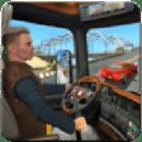 在 卡车 驾驶 游戏 : 高速公路 道路 和 曲目