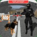 边境巡逻嗅探犬