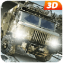 Truck Driving : Army Force Transport Simulation 3D