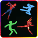 Stick Superhero Fight