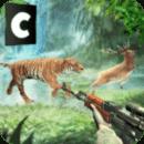 森林动物真正的狩猎