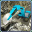 重型挖掘机3D石矿业