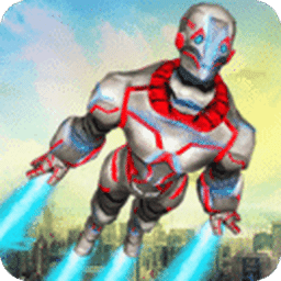 超级英雄飞行机器人
