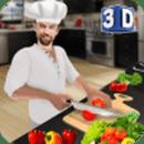 虚拟厨师烹饪游戏3D:超级厨师厨房