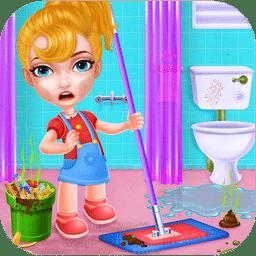 公主清理房间