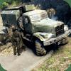 军队 战争 卡车 司机 3D