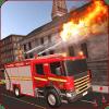 美国城市消防员英雄:救援车超级英雄