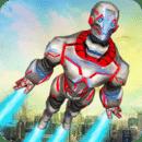 超级英雄飞行机器人救援