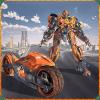 飞行自行车机器人变形战争模拟器