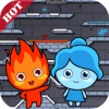 Fire red boy and water blue girl: Ice Temple
