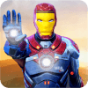 Grand Superhero Flying Iron Rescue