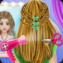 芭比公主发型屋