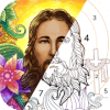 Bible Coloring - Color By Number, Free Bible Game