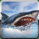 饥饿的鲨鱼攻击模拟