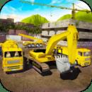 我的小镇挖掘机建造