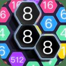 六边连接 - 数独贪吃蛇数码消除2468,六边形方块2048休闲游戏