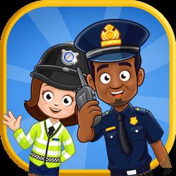 迷你城堡小镇警察局